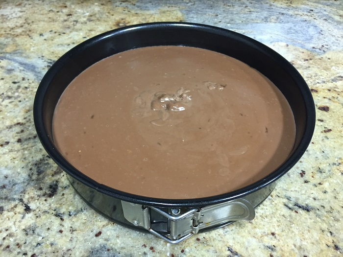 Tarta de Tres Chocolates para Valientes
